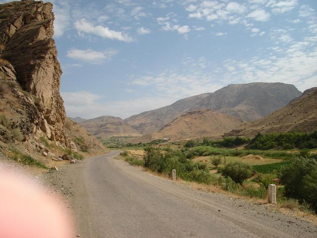 at the entrance of the valley