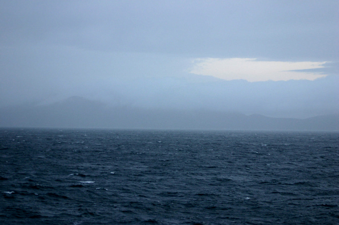 View east towards Deception Island
