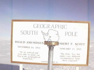 #1: South Pole (the real one, not the silly ceremonial one)