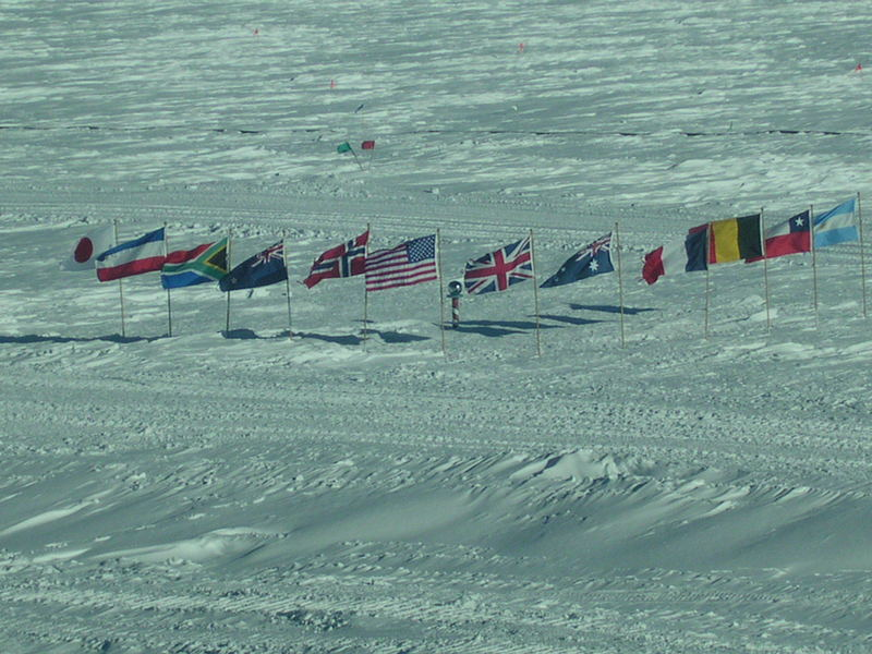 Ceremonial South Pole