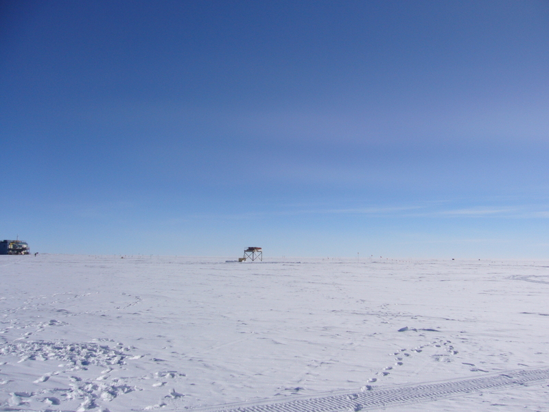 View North along 90°E: Atmospheric Research (Clean Air) Observatory