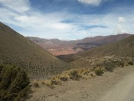 #7: En camino a las alturas. Path at the mountains