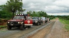 #2: Las camionetas en que viajamos. The trucks we used