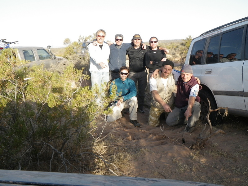 El equipo en la confluencia - The team at the confluence