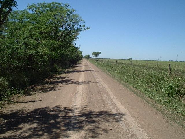 another dirt road heading WNW