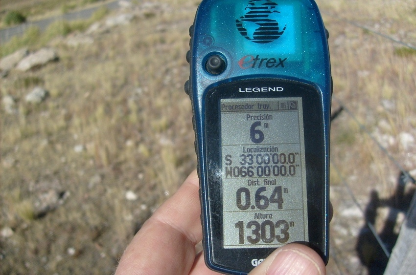 Marca GPS. GPS proof