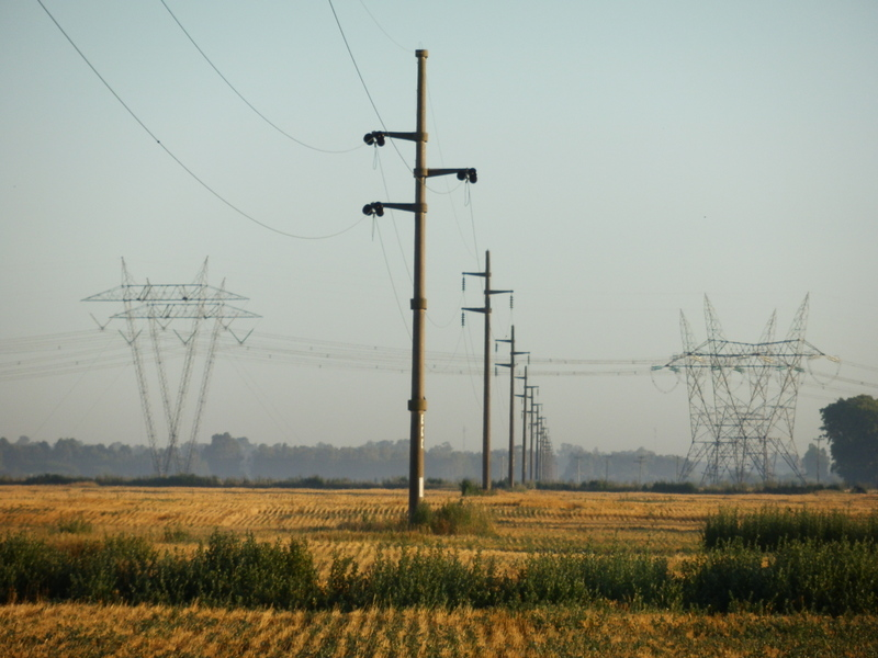 Power Lines at the Confluence Point
