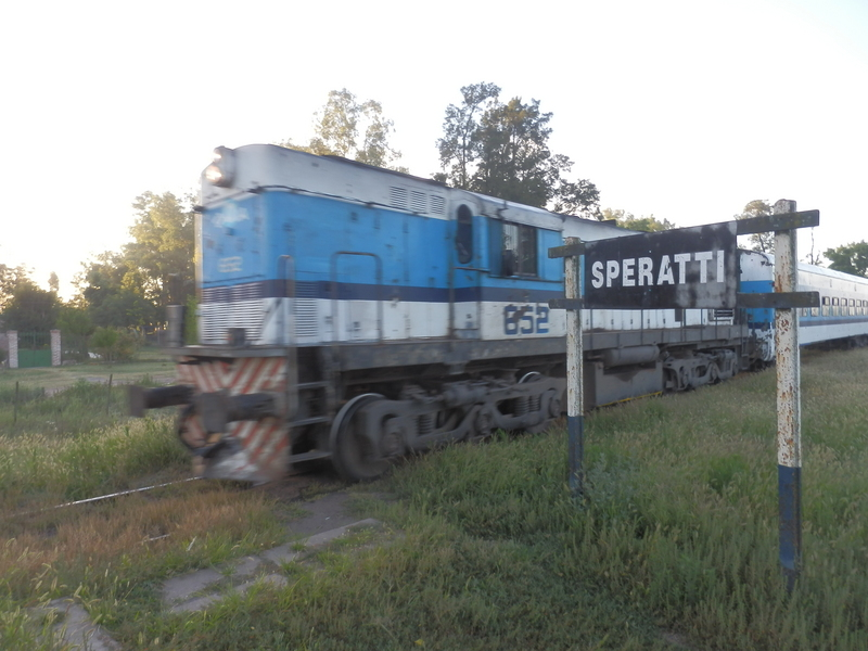Train Arriving in Speratti Station