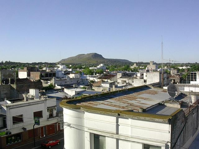 Bacarce desde el hotel - balcarce from the hotel