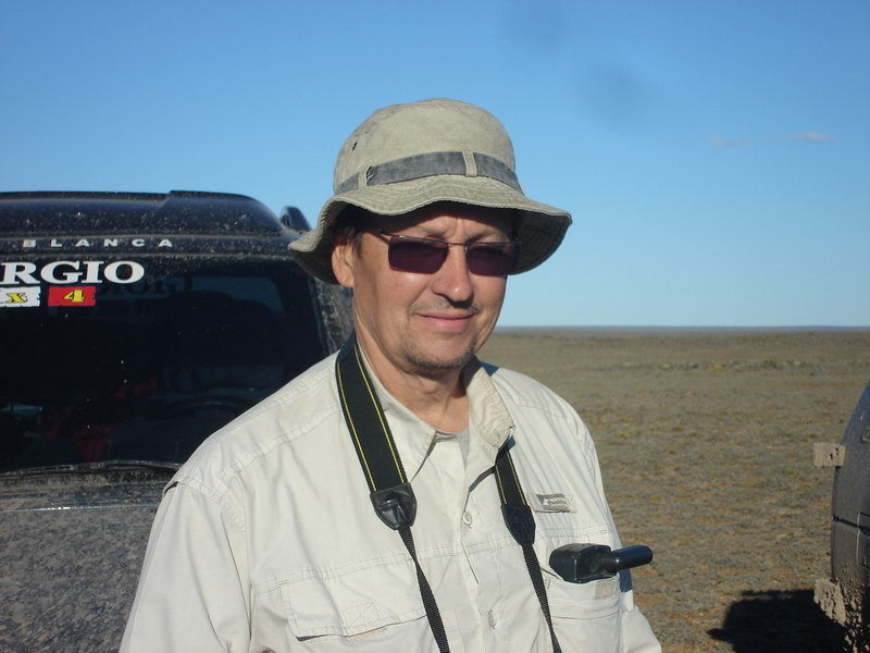 Guillermo Loza , propietario de la confluencia – Guillermo Loza, the owner of the confluence