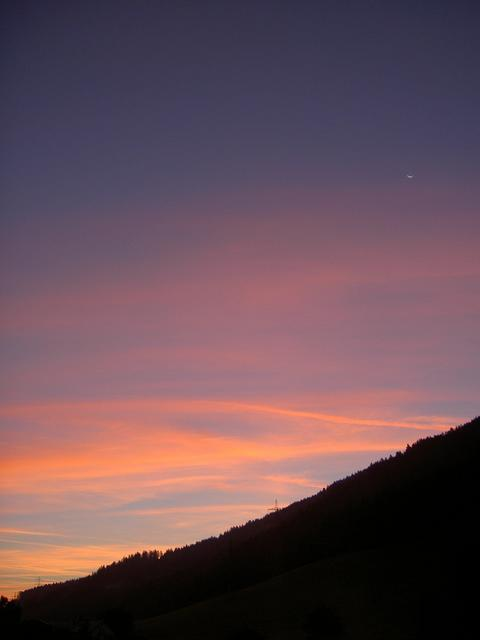 Just before dawn in Steiermark
