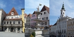 #10: Steyr - gothic Bummerlhaus, town square and Rococo townhall
