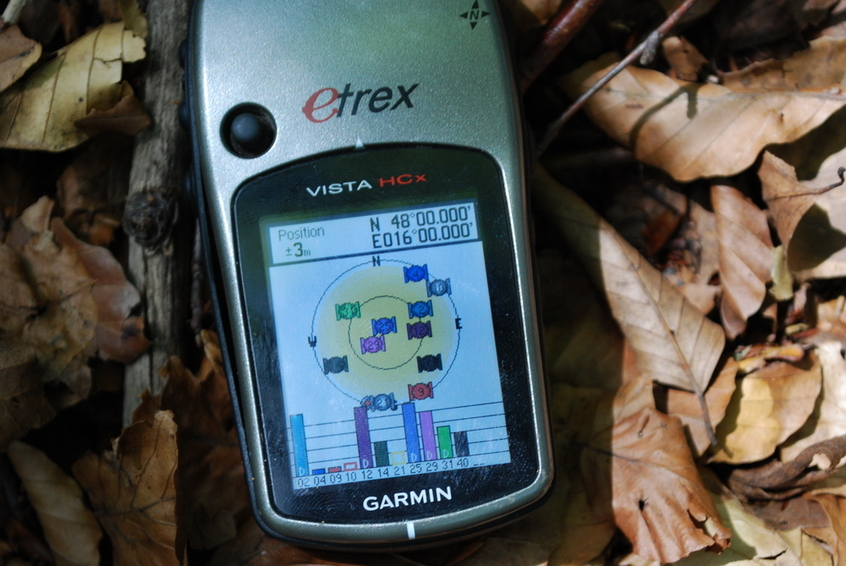 GPS reading at CP 48N 16E