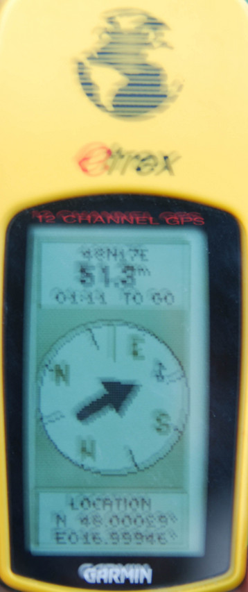 A blurred GPS photo :-(