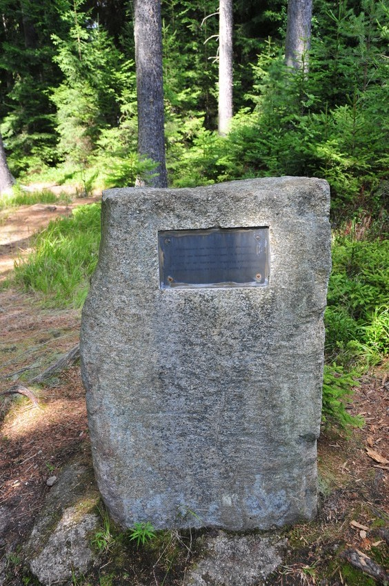 old marker of confluence point
