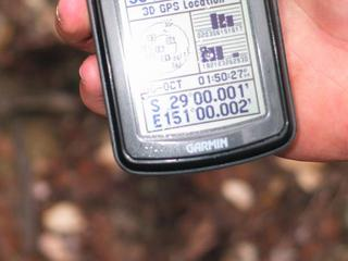 #1: The only clear shot I got of the GPS