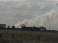 #5: A bushfire burns in the distance.
