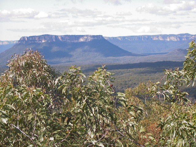 This Confluence is in the Great Dividing Range that runs along eastern Australia