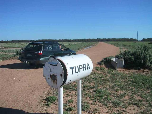 Tupra Station road side mailbox