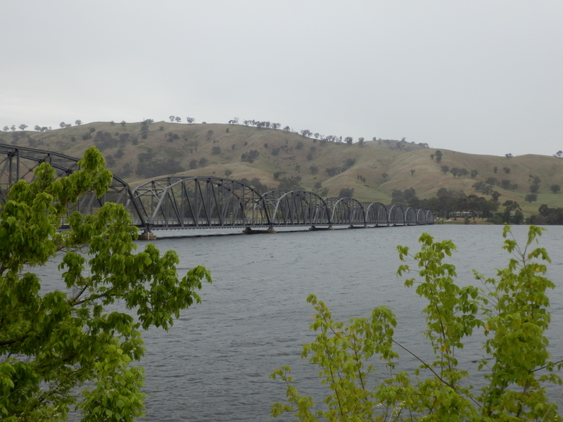 Crossing of Lake Hume