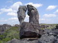 #6: Rock formations in the area