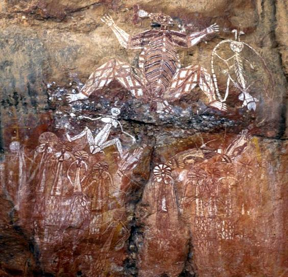 Spectacular rock art nearby in Kakadu NP