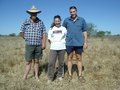 #6: Self-photo of Mark Restall (Wernadinga Station Manager), Sarah-Jane and me