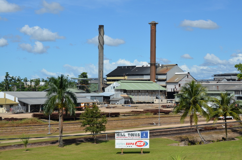The Tully Sugar Mills where the Sugar Cane will come to be crushed