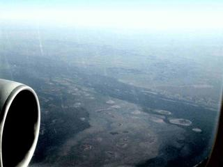 #1: The confluence from 35,000 feet