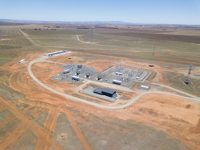 A drone's-eye view of the Hornsdale Power