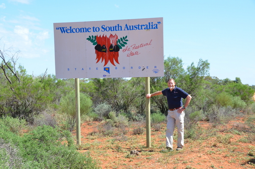 Leaving South Australia