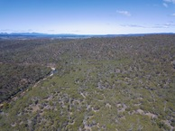#10: View South (towards Great Oyster Bay and the Freycinet Peninsula), from 120m above the point