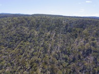 #8: View North, from 120m above the point