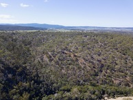 #9: View East, from 120m above the point