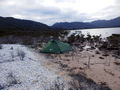 #6: Camp at Lake Pedder