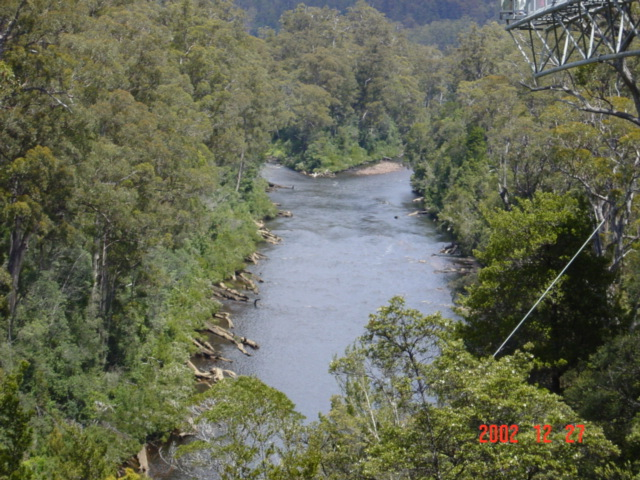 Confluence of Picton and Huon rivers