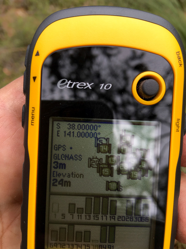 Pic of the GPS spot on the Confluence Point