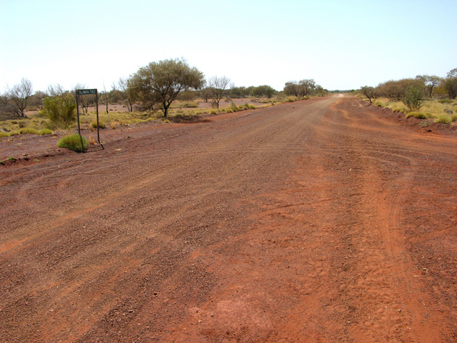 The Talawana Track, one of the entry points to the Canning Stock Route