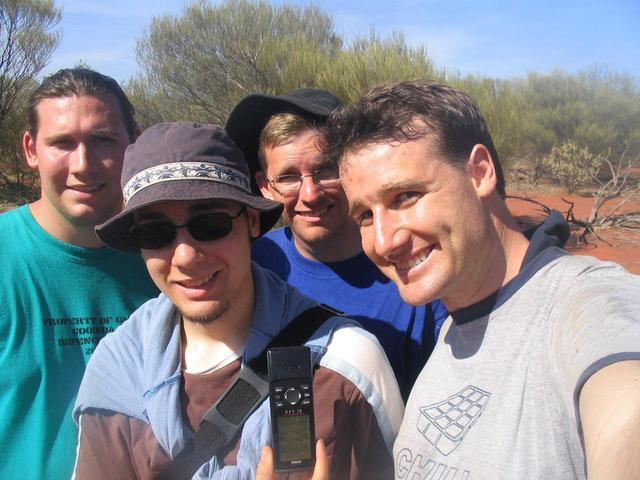 The Confluence Crew on the 26°S 115°E confluence.