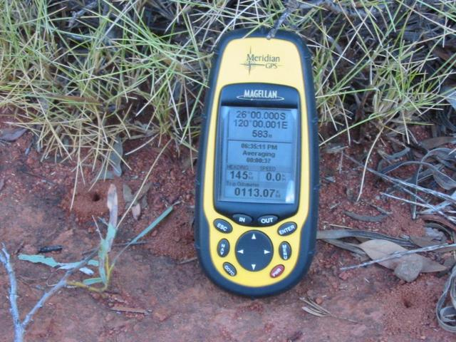GPS in the Spinifex