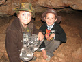 #4: James & Tommy exploring a cave