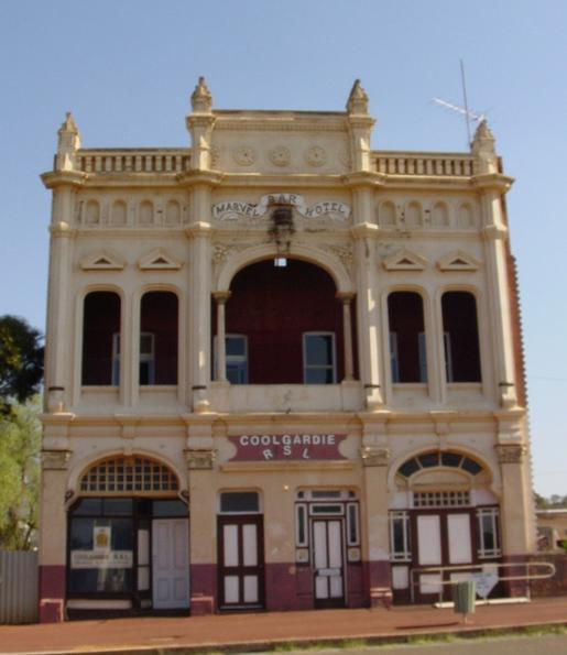 Historic building in Coolgardie