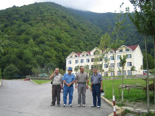 Journey start at Duyma recreation center near Vandam village