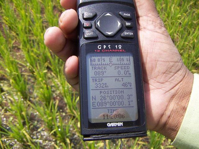 The evidence of my old GPS 12.