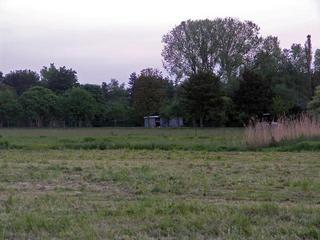 #1: Farm buildings in the distance