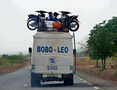 #10: Typical public transport on the road to Bobo-Dioulasso
