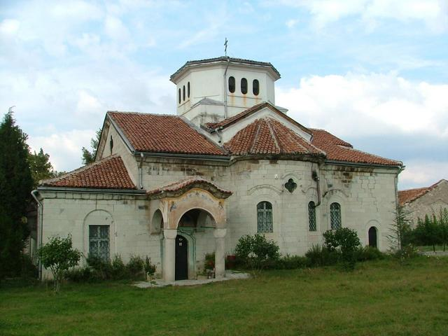 The Monastery church.