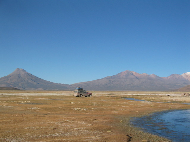2 days by jeep en route to the confluence