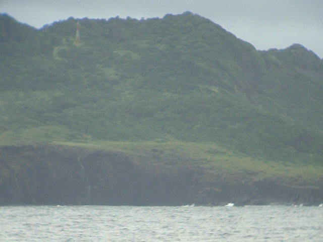 Fernando de Noronha is covered with vegetation
