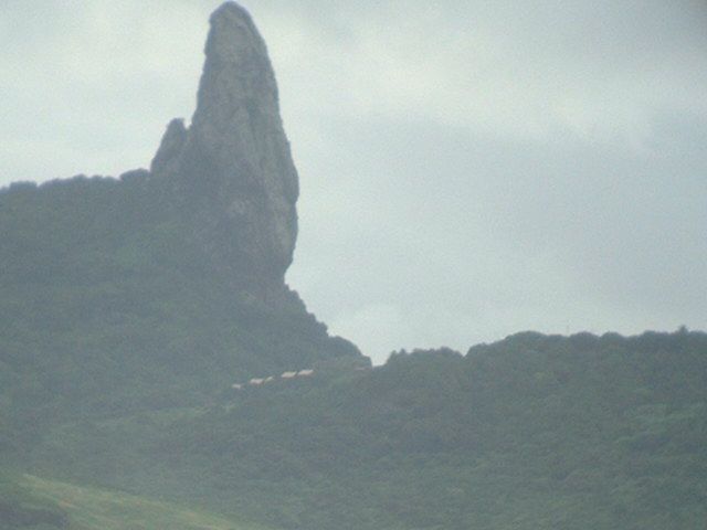 Morro do Pico, the highest elevation of Fernando de Noronha